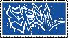 Sega Graffiti Stamp
