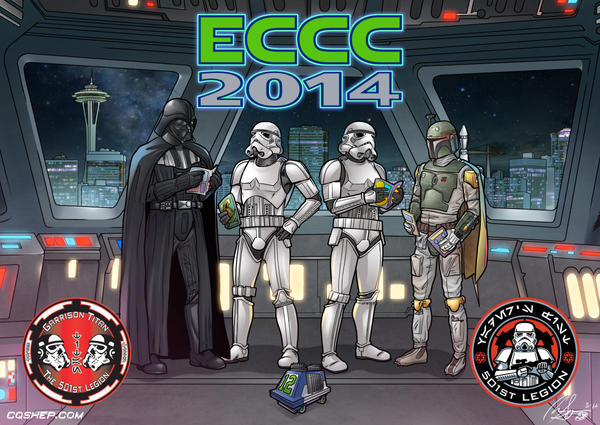 501st ECCC Postcard by freaxel