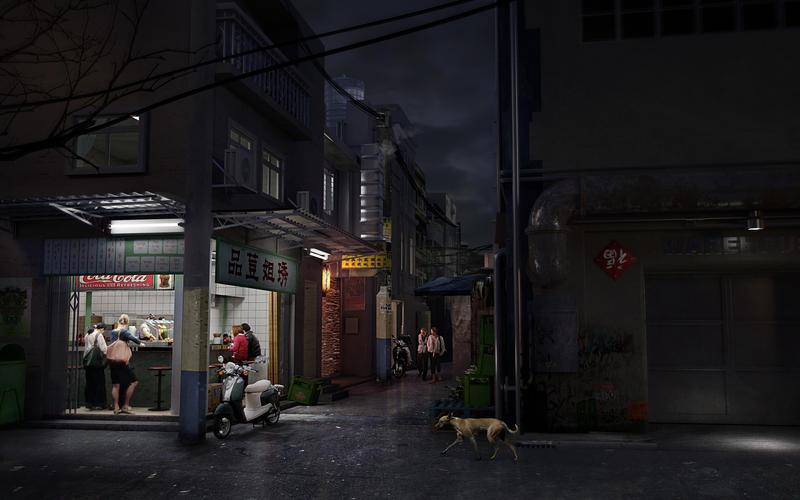 Street by freaxel