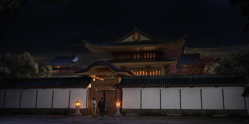 Night time in Japan by freaxel