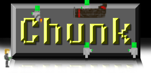 Chunk Video Game Logo by iNightfaller