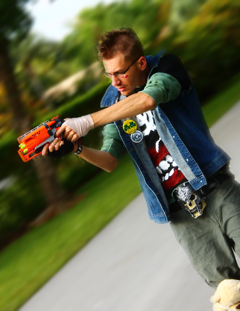 Sunset Overdrive Cosplay by iNightfaller