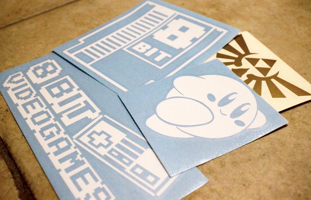8-bit Swag (Stickers) by iNightfaller
