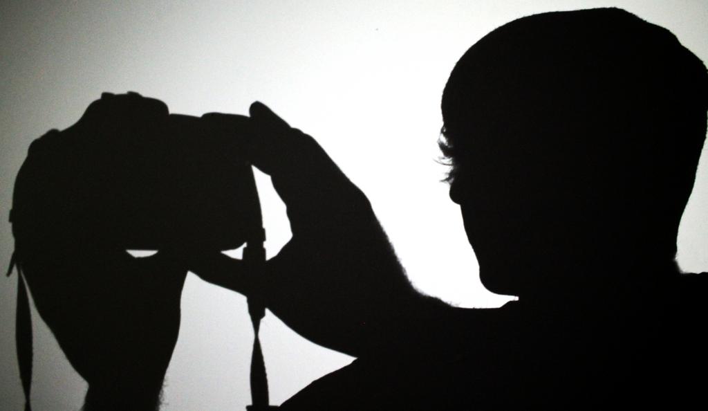 Shadow Selfie by iNightfaller