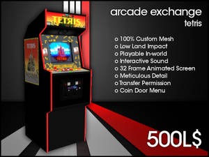 Arcade Exchange - Tetris [WIDE]