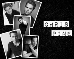 Chris Pine Wallpaper by DragonsandPigtails