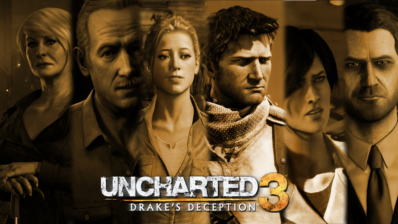 Galerry The Uncharted Trilogy by Kmadden2004 on DeviantArt