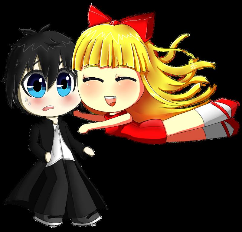 Akira and Risa by Xiao-Shi
