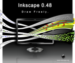 Inkscape 0.48 About screen by GwenLP