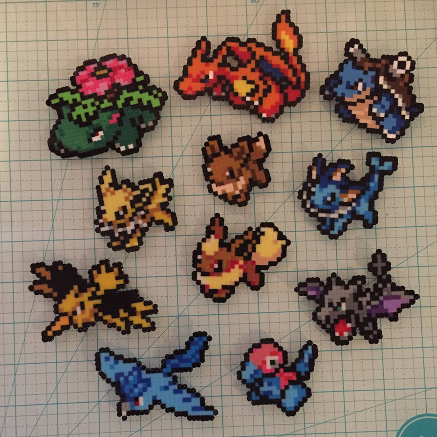 Mini Perler Pokemon 4 by Twizz3985 on DeviantArt