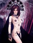 Sakuya, Princess of the Crimson Butterfly by venomoussilence
