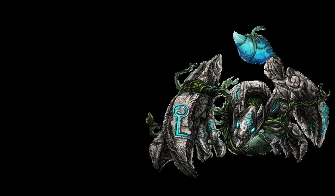 renders League Of Legend  Earthrune_skarner_render___league_of_legends_by_optimusproduction-d71cery