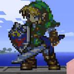 Minecraft Link Statue