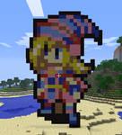 Minecraft Dark Magician Girl