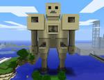 Minecraft Golem War Machine