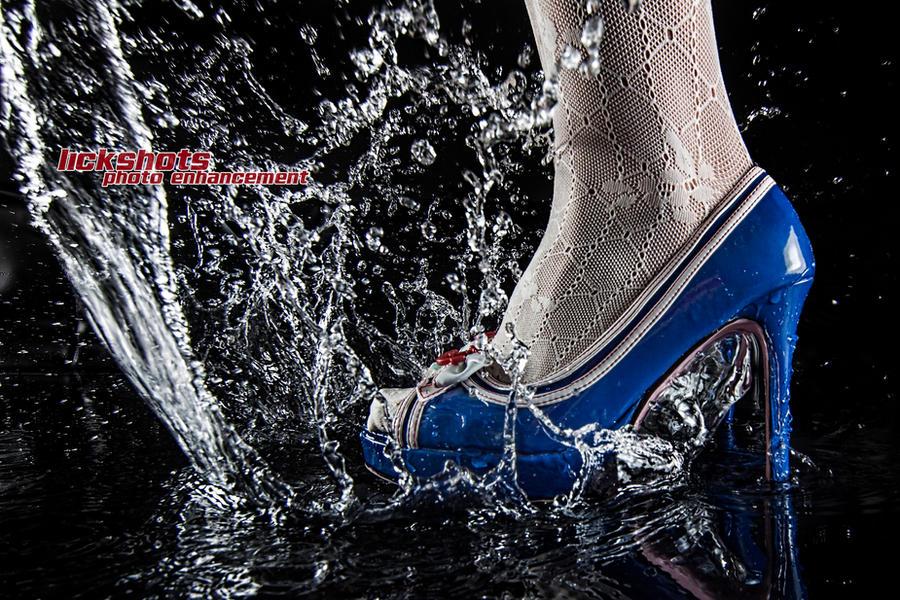 splash heels by lickshots