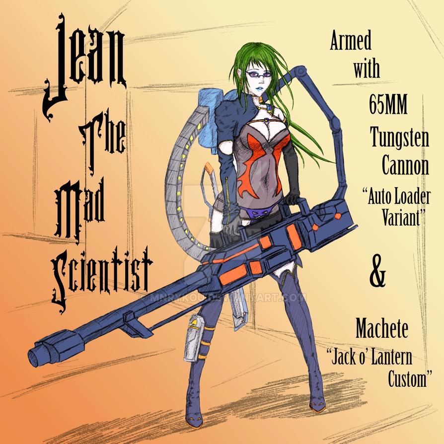 Jean - Geared -- Front by Mnrykou