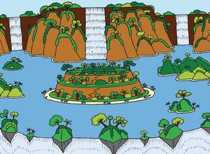 Lurfomu Falls, Lurfstar