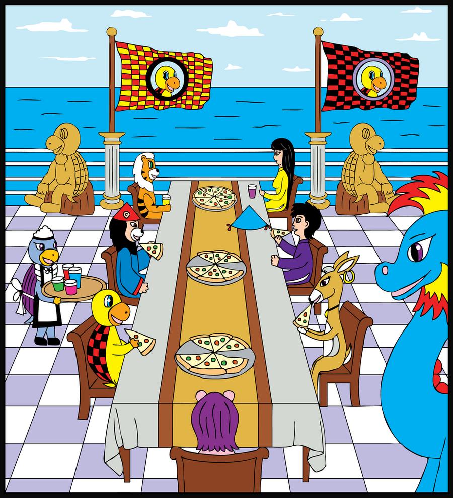 Lurfstar Pizza Party by Lurfstar
