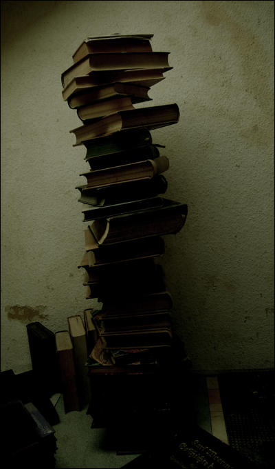 Tower of Books by LisaBellaCullen