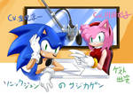SONICandAMY Japanese  Voice