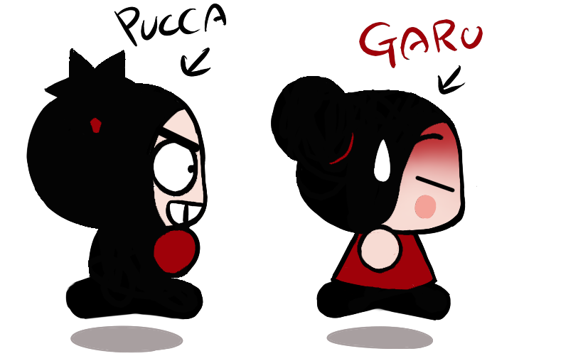 Garu X Pucca by GaruGiroSonicShadow on DeviantArt