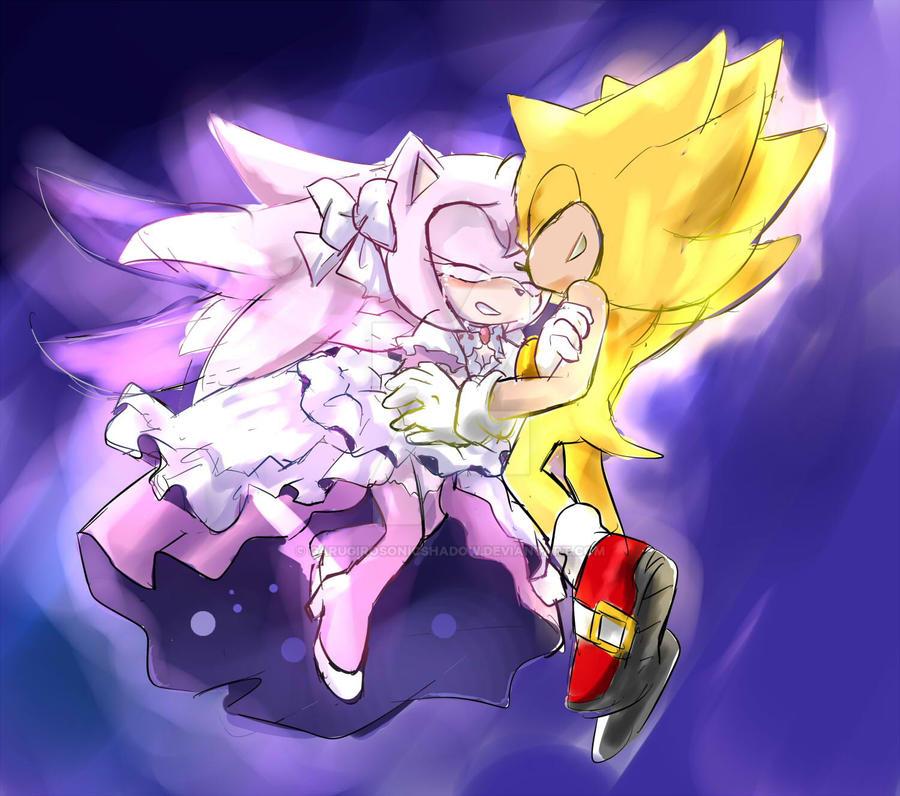 Super Sonic X Ultimate Amy by GaruGiroSonicShadow on DeviantArt
