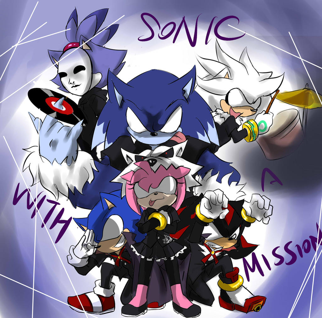 Sonic with a mission by garugirosonicshadow on deviantart for Mission exe