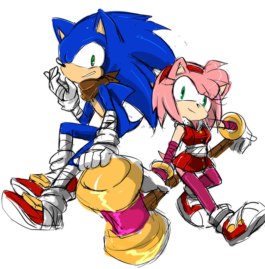 2014 SONAMY SONIC BOOM by GaruGiroSonicShadow