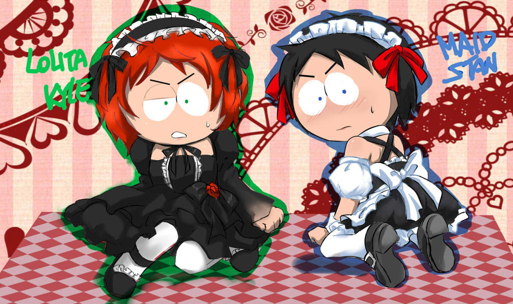 Lolita Kyle Maid Stan by GaruGiroSonicShadow