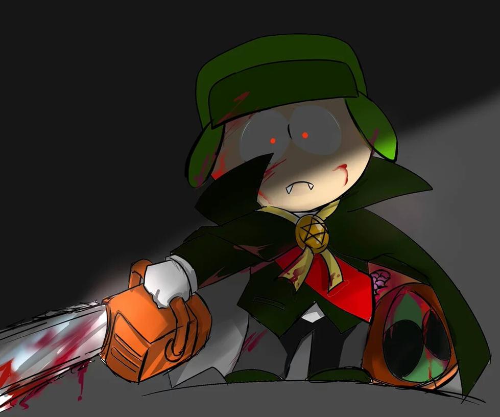 Helloween Kyle by GaruGiroSonicShadow