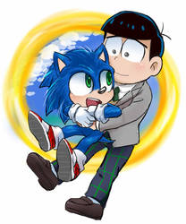 Sonic the movie Japanese voice  friend