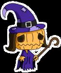 Samhain, The Pumpkin Witch by MagicFool64
