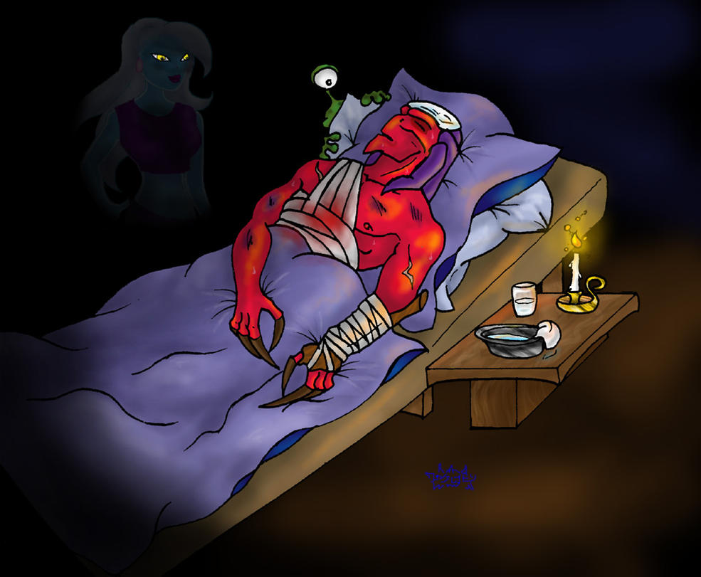At Thrax  Bedside by D...