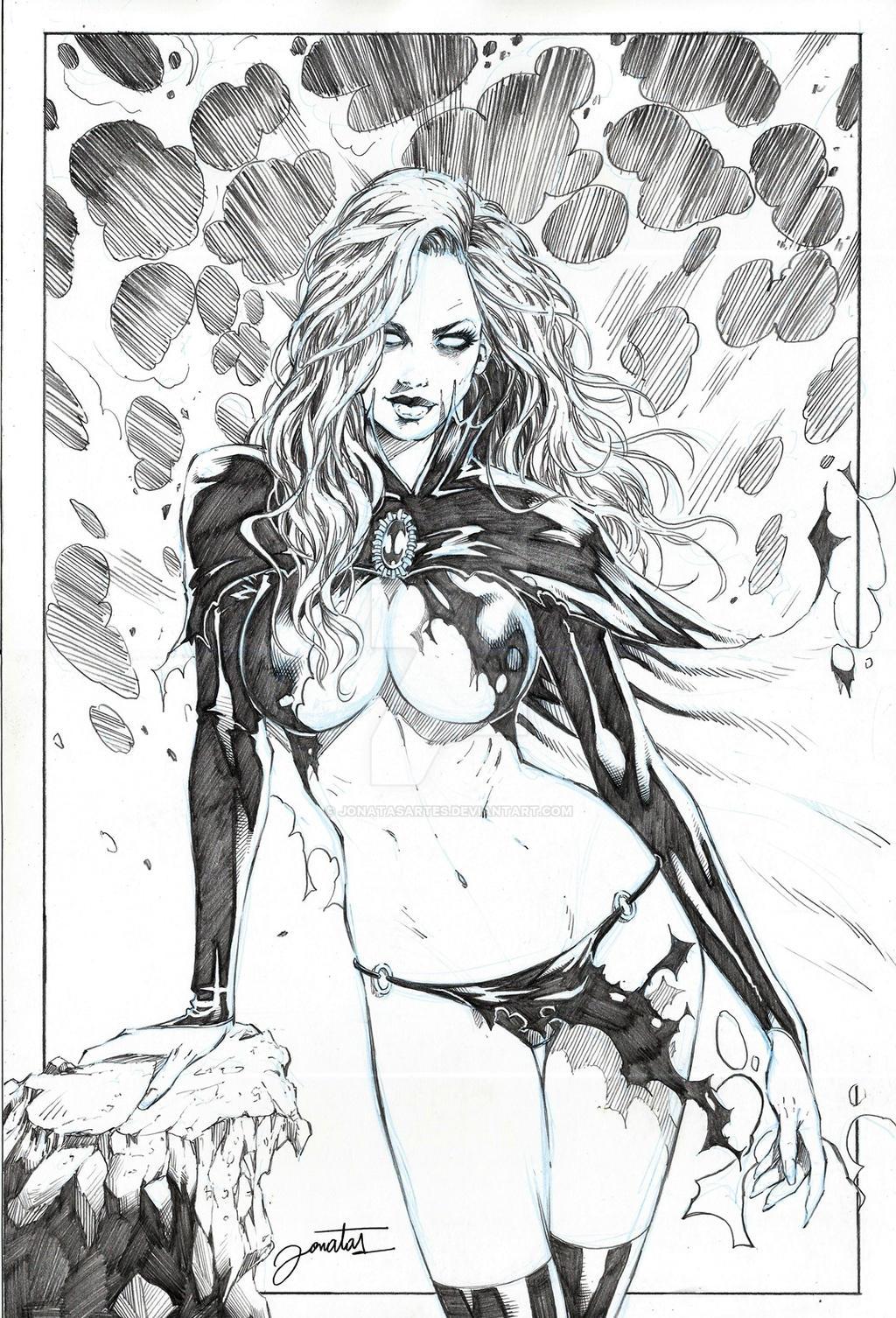 Goblin Queen by jonatasartes