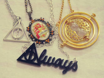 Harry Potter jewelry by JanuaryLOVER