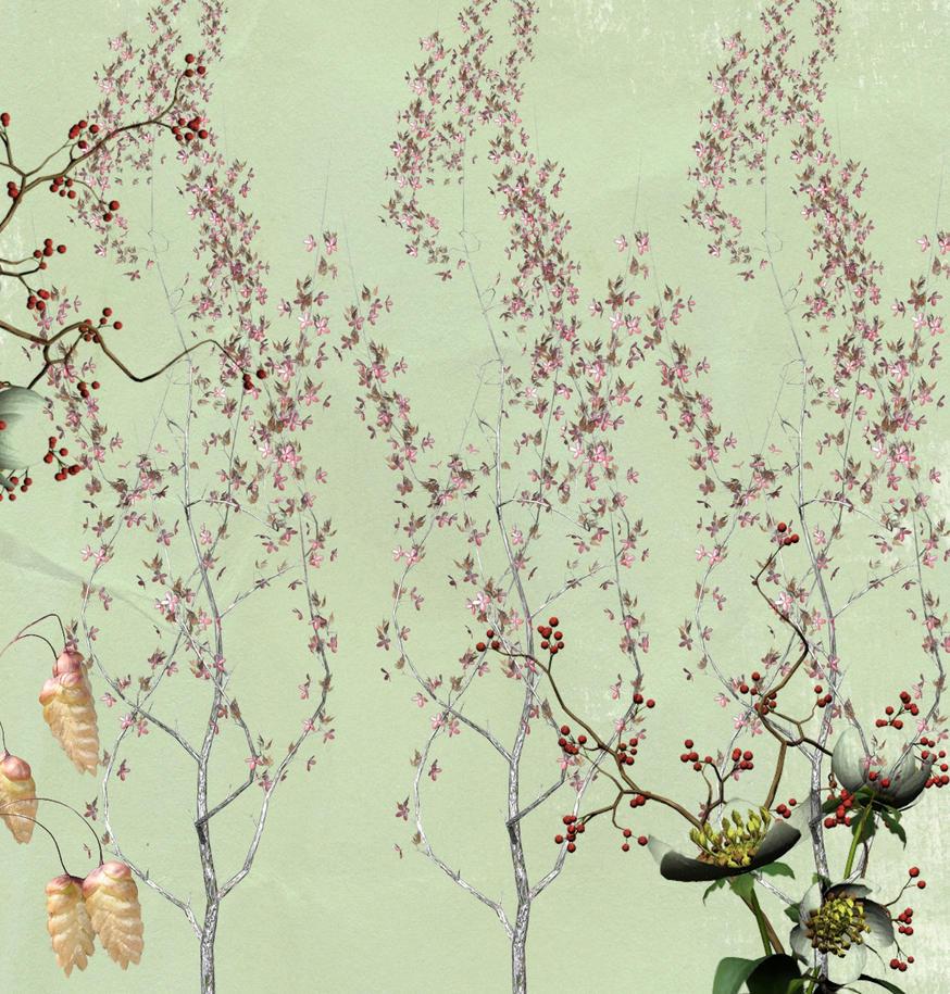 Vintage Wallpaper by DeirdreMariePowell