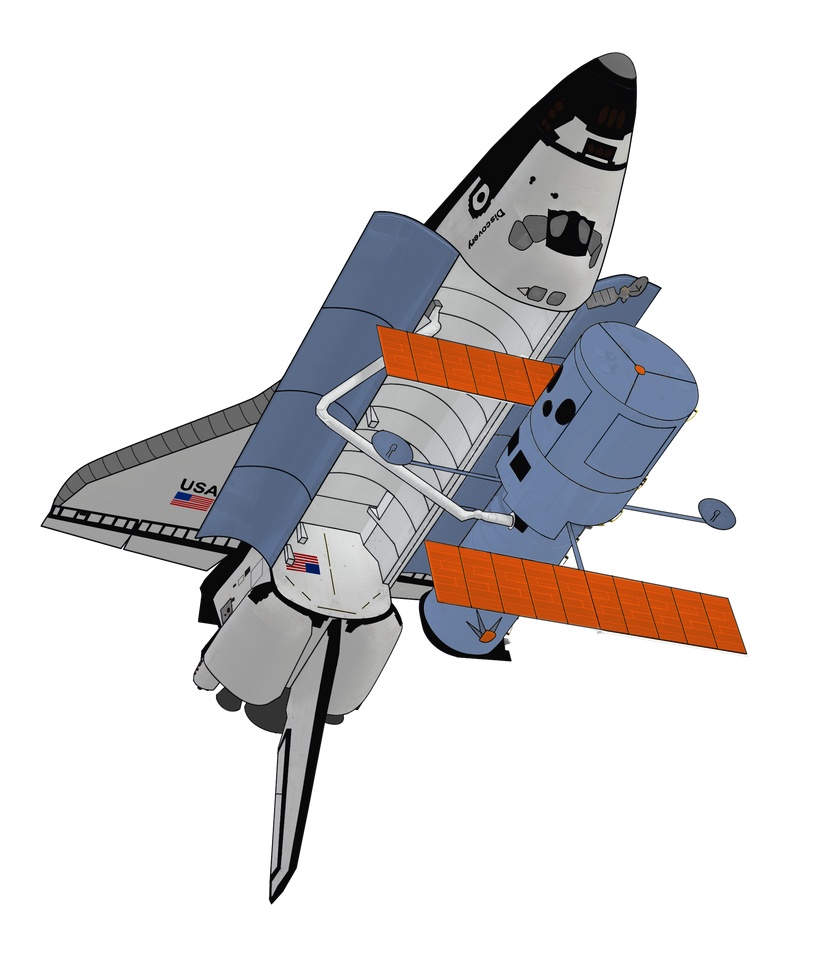 Space Shuttle Discovery by Spaceguy5