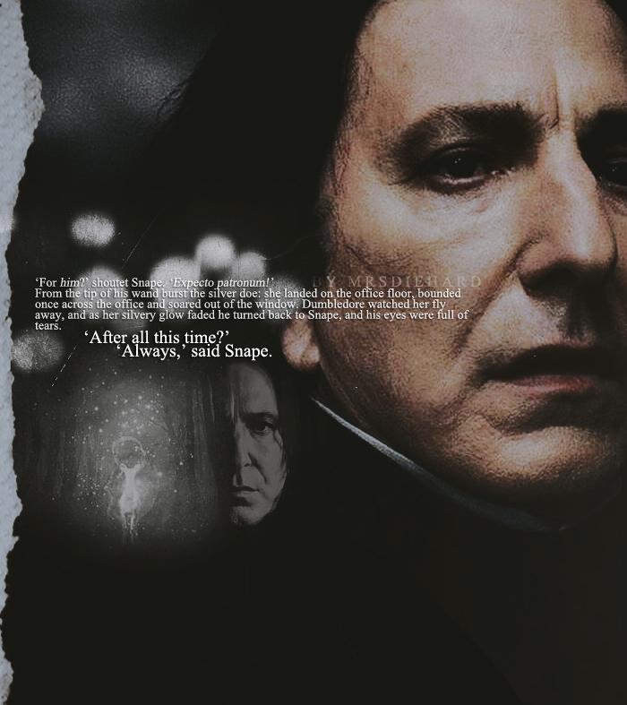 Harry Potter Wallpaper We Heart It: 'always,' Said Snape. By Mrsdiehard On DeviantArt