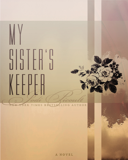 My Art Book Cover : My sister s keeper book cover by mrsdiehard on deviantart