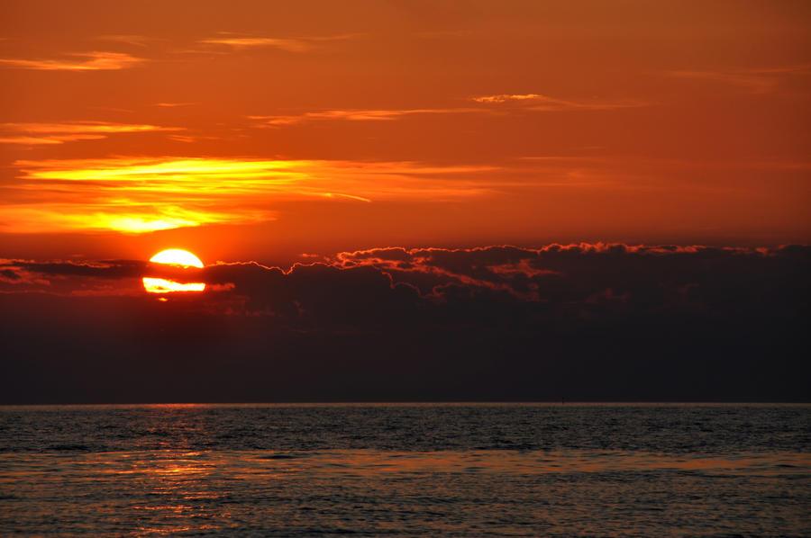 Sunset in Umag