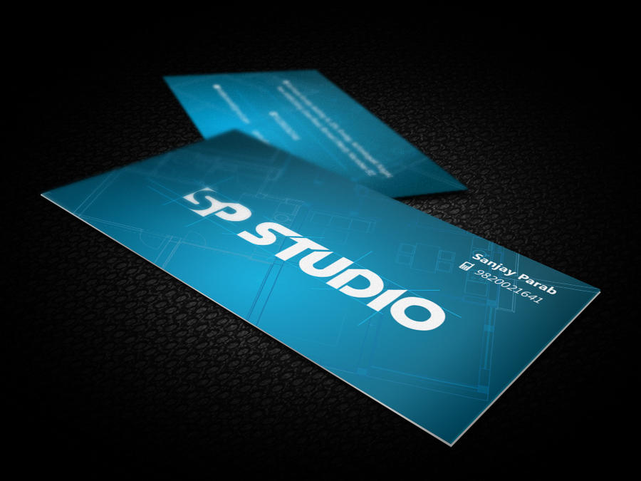 SP Studio Business Card Design by mbenzrajan on DeviantArt