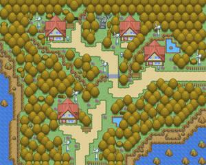 Autumn style map
