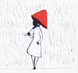 Rain and REd by Moito