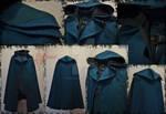 Elven Cloak Hooded Versatile Fantasy Ranger - LARP by OokamiWorkroom