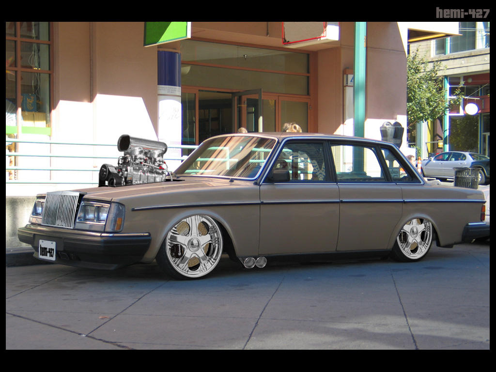 Supercharged volvo 240