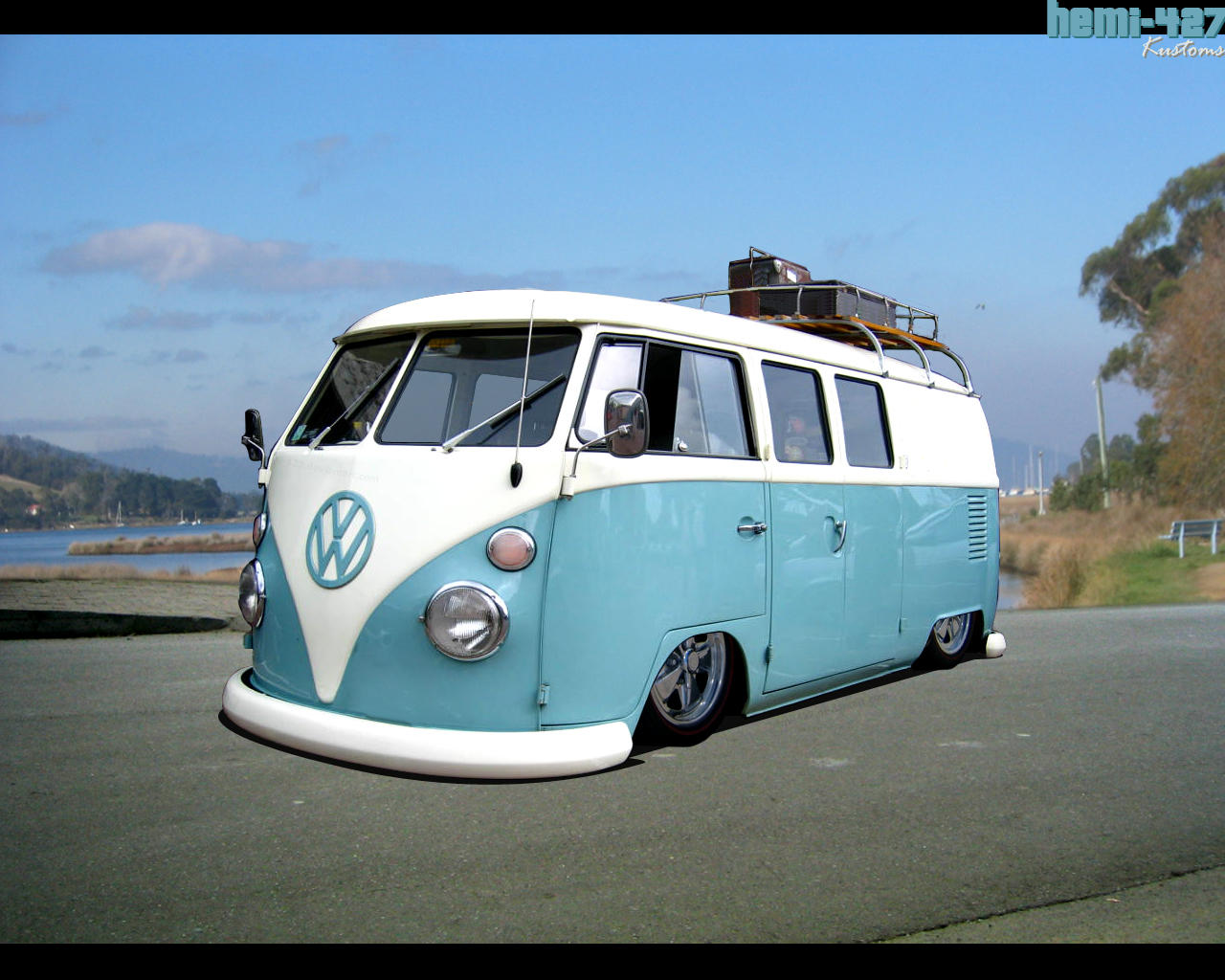 vw combi old style mega wallpapers. Black Bedroom Furniture Sets. Home Design Ideas