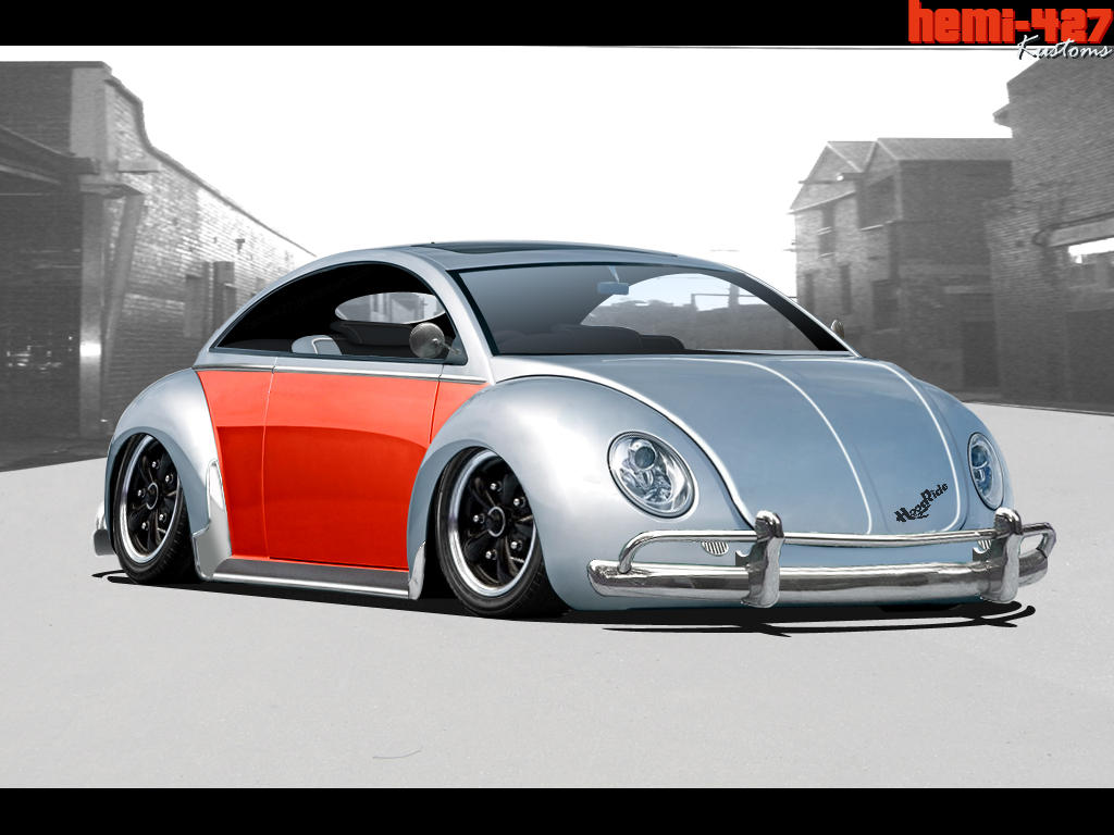 VW Beetle for virtual-tuning
