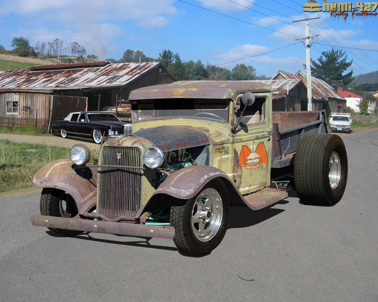 34 Ford Truck by ~Hemi-427 on