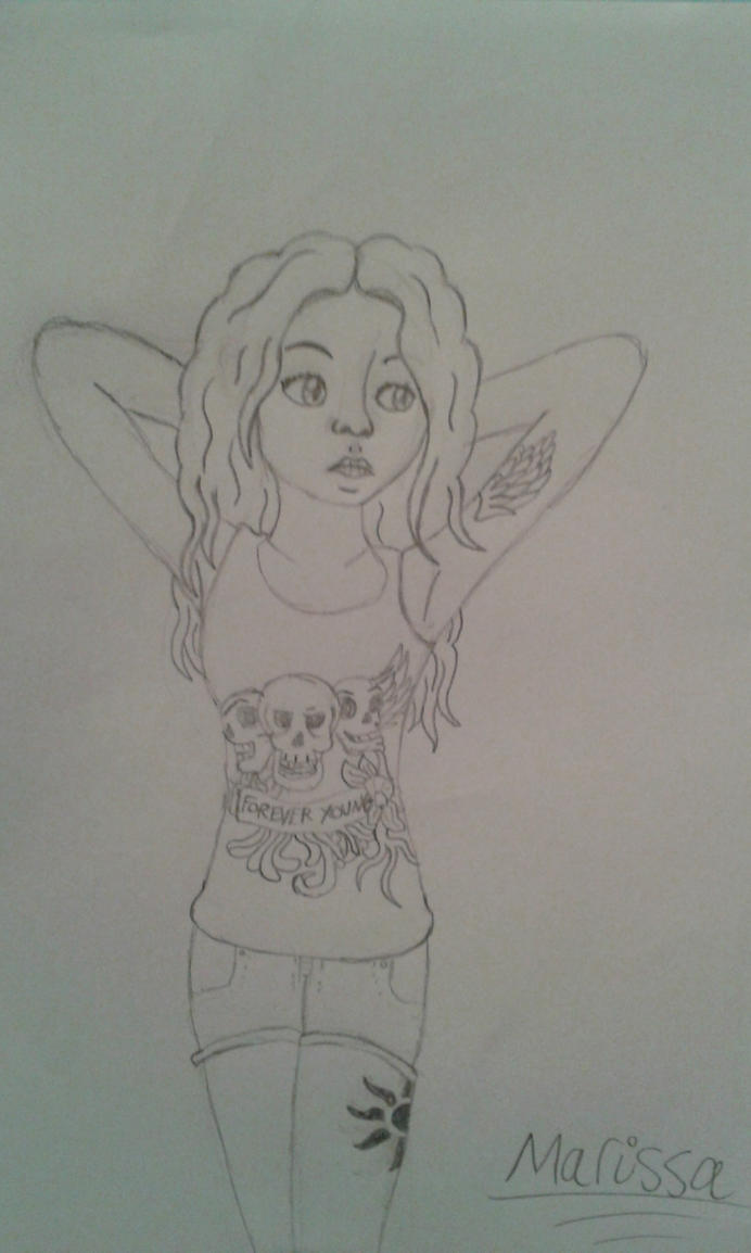 The Tattooed Girl ~ by LillyTheSeedrian